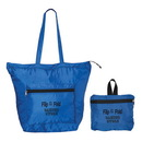 Custom F8183 Folding Smart Tote, 190T Ripstop Polyester, 18.5