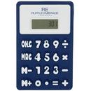 Custom M7336-C Flexible Calculator, Rubberized Calculator, 3.25