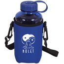 Custom N3066-C Large Neoprene Bottle Holder, Neoprene Insulated Water Bottle Holder, 3.5