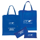 Custom NW4761 Non Woven Magic Folding Shopping Tote, 15.5