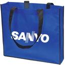 Custom NW4927 Non Woven Oversized Tote Bag, Non Woven 75 Gram Polypropylene, 18