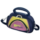 Custom P4058-C Cosmetic Travel Bag, Eva Hard-Sided Case With 600D Two-Tone Polyester, 10