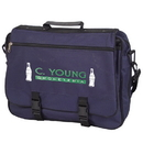 Custom P4481 Business Brief, 600D Polyester, 16