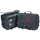 Custom P4485 Business Brief, 600D Polyester With A 420D Nylon Lining, 16