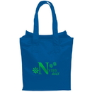 Custom RE428 Recycled Pet Tote Bag, 160 Gm/M2 22 Needle Stitch Material Made From 85% Post-Consumer Recyclable Plastic, 11.75