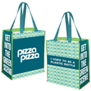 Custom RE6944 Pet Preprinted Jumbo Grocery Tote, Sp 1C Ps - 9