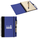 Custom RP7340 Recycled Cardboard Notebook, Spiral Bound Coloured Cardboard Notebook, 5.5