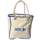 Custom TO4530 Rope Tote, 12 Ounce Cotton Canvas, 13.5