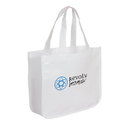 Blank TO4708 Extra Large Recycled Shopping Tote, Larger Version Of Our Popular To4511 Recycled Fashion Tote, 16.25