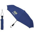 Blank UF237 Telescopic Folding Umbrella, 190T Polyester, 21