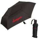 Blank UF314 Folding Umbrella, Six-Panel 190T Double Layer Polyester Umbrella With Silver Trim, 21