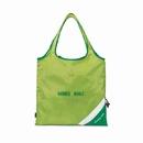 Custom 1184 Latitudes Foldaway Shopper, Apple Green, 210D Polyester, 16