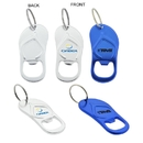Custom Sandal Shaped Bottle Opener Keychain