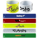 Custom Reflective Slap Wristband, 8 3/4