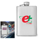 Custom Stainless Steel Flask 4 oz.