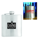 Custom Stainless Steel Flask 6 oz.