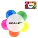 Custom Clear Daisy Highlighter, 3 3/4
