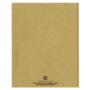 Custom Khaki Recycled Sticky Notebook, 3 1/4