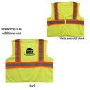 Custom Ansi 2 Tri Color Safety Vest