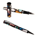 Custom 10713 - Twist Action Ballpoint Pen & Screw off Cap Rollerball with Picasso Design Body