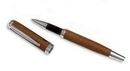Custom 1703 - Innovator Football Material Rollerball Pen in Caramel