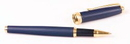 Custom 6703-NAVY - Best Seller - Inluxus Executive Rollerball Pen with Gold Appointments and Snap off Cap