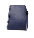 Custom GLNOTE-COLORS-NV - Tan Bonded Leather Note Pad with Pen Holder