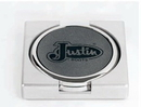 Custom ITCOASTSET - Gray IT Series Coaster Holder with 2 Coasters