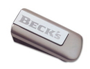Custom MCLITE - Millennium Series Two-Tone Silver Flashlight Money Clip