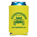 Custom 0346S - Folding Foam Can Cooler Two Sided Imprint, 4