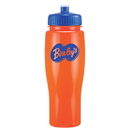 Custom 0373 - 24oz Opaque Contour Bottle with Push Pull Lid, 8 1/4