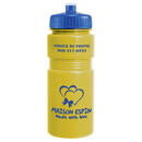 Custom 0377 - 20oz Opaque Recreation Bottle with Push Pull Lid, 7 1/2