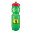 Custom 0391 - 22oz Opaque Bike Bottle (Push Pull Lid), 8 1/2