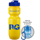Custom 0392 - 22oz Opaque Bike Bottle (Flip Top Lid), 8 1/2
