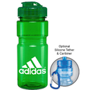 Custom 0403 - 20oz Translucent Recreation Bottle with Flip Top Lid, 7 1/2