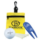 0662 - Golf - in - A - Bag Gift Set, with Divot Repair & Ball Marker