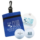 Custom 0664 - Golf Tag - in - A - Bag Gift Set, with Divot Repair & Ball Marker