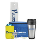 Custom 0669 - Deluxe Golf Gift Set, with 14oz Stainless Steel Budget Tumbler