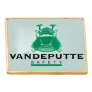 Custom LP109 - Rectangle Lapel Pin, Tradeshow and Recognition Gifts, Green