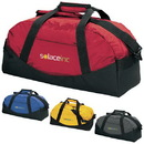 15087 Large Classic Cargo Duffel, 420D Pack Cloth Nylon/600D Polyester Bottom, 24
