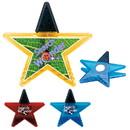 Custom 30358 Star Clip Magnet, Plastic, Metal, Magnet