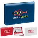 Custom 30465 Business Card/License Holder, Vinyl