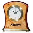 Custom 36273 Burlwood Clock, Burlwood, 6-7/8