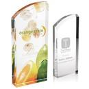 Custom 36625 Enterprise Curve Award, Acrylic, 3-1/2