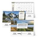 Triumph Custom 4251 American Splendor Desk Calendar, Digital