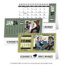 Triumph Custom 4252 The Saturday Evening Post Desk Calendar, Digital