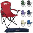 Custom 45009 Captain's Chair, Seat - 600D Polyester, Frame - Powder-Coated Steel