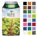 Koozie Custom 45448 4-Color Process Collapsible Can Kooler, Polyester with Foam Backing