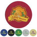 Koozie Custom 45667 Coaster - Round, Polyester with Foam Backing