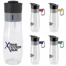 Custom 45702 Vista Bottle - 26 Oz., Polyethylene Terephtalate Glycol Plastic and PP (Polypropylene) Plastic